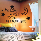 Falimatrica 60*90 cm we love moon
